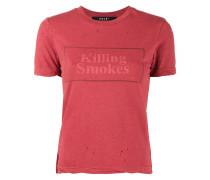 Killing Smokes print t-shirt
