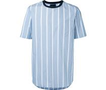 T-Shirt mit Längsstreifen - men - Baumwolle - L