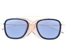 Sonnenbrille mit rechteckigem Gestell