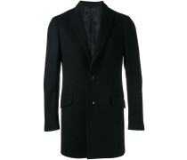 cashmere single breasted coat