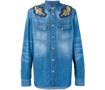 Jeans-Hemd mit Applikation