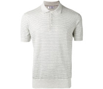Gestreiftes Poloshirt - men - Baumwolle - 48