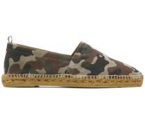 Espadrilles mit Camouflagemuster