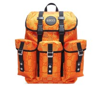 ' Off The Grid' Rucksack mit GG-Muster
