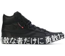 """HighTopSneakers mit """"Kanji""""Print"""