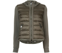 padded front hooded jacket