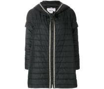 embellished padded jacket