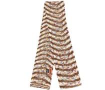 Melierter Schal mit Streifen