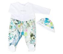 printed babygrow and hat set - kids
