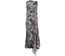 Kleid mit Schlangenleder-Effekt