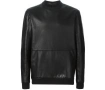 Sweatshirt aus Leder
