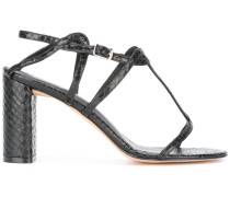 'Savana' Sandalen - women - Leder/Lackleder