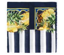 Schal mit Ananas-Print - women - Baumwolle