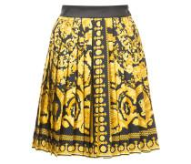 Signature print skirt