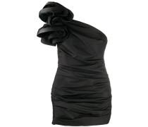 One-Shoulder-Kleid mit Raffung
