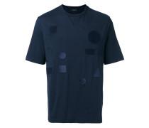 T-Shirt mit Patches - men - Baumwolle - M