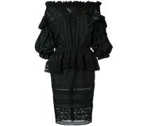 Drapiertes Kleid mit Cut-Outs - women