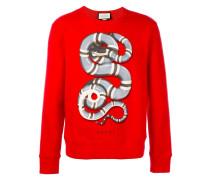 Sweatshirt mit Königsnatter-Print - men