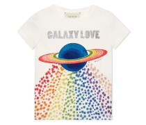 "T-Shirt mit ""Galaxylove""-Print"