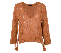 long sleeves knit blouse
