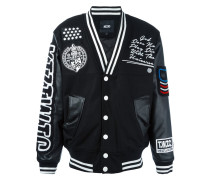 Collegejacke mit Patches - men