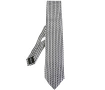 ouble Gancini panel tie