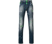 Fluo Python jeans