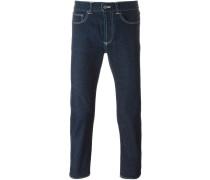 Schmale Jeans - men - Baumwolle/Kalbsleder - 30