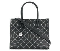 Mercer grommeted leather tote bag