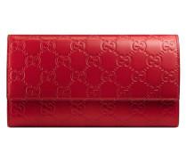 Signature continental wallet - women - Leder