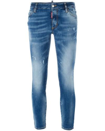 dsquared damen jeans im used look 35 reduziert. Black Bedroom Furniture Sets. Home Design Ideas
