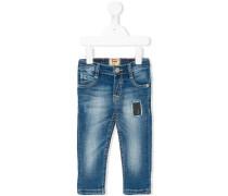 Jeans mit Patch