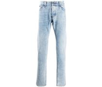 Jeans mit Acid-Wash-Effekt