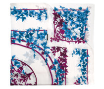 leaf print scarf