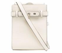 Satteltasche aus strukturiertem Leder