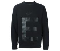 "Sweatshirt mit ""E""-Print"