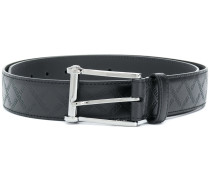 Greek Key embossed belt