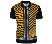 Poloshirt mit diagonalen Streifen - men