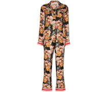 'Eden' Pyjama mit Blumen-Print