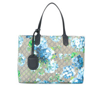 reversible GG Blooms shopping tote