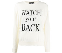 'Watch Your Back' Pullover