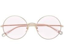 Brille mit Sonnenblende