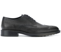 textured brogues