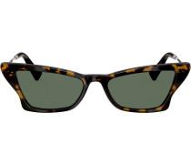 Geometrische Cat-Eye-Sonnenbrille