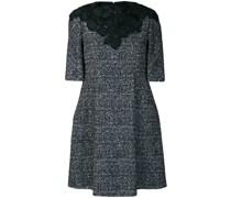 Verziertes Tweed-Kleid