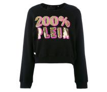 Sweatshirt mit Pailletten - women - Baumwolle