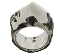 faceted crater ring
