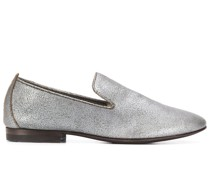 Slip-On-Loafer im Metallic-Look