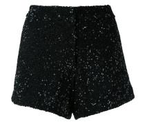 - sequinned shorts - women - Nylon/Polyester - 36