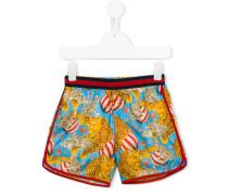 - Shorts mit Zirkus-Print - kids